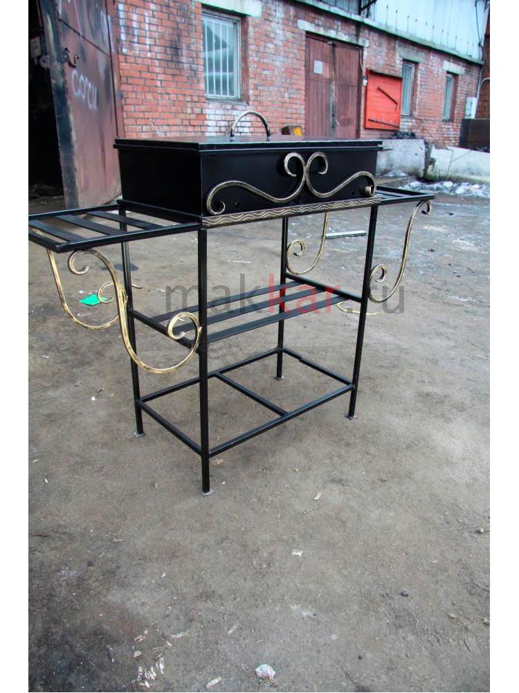 Мангал с столиками